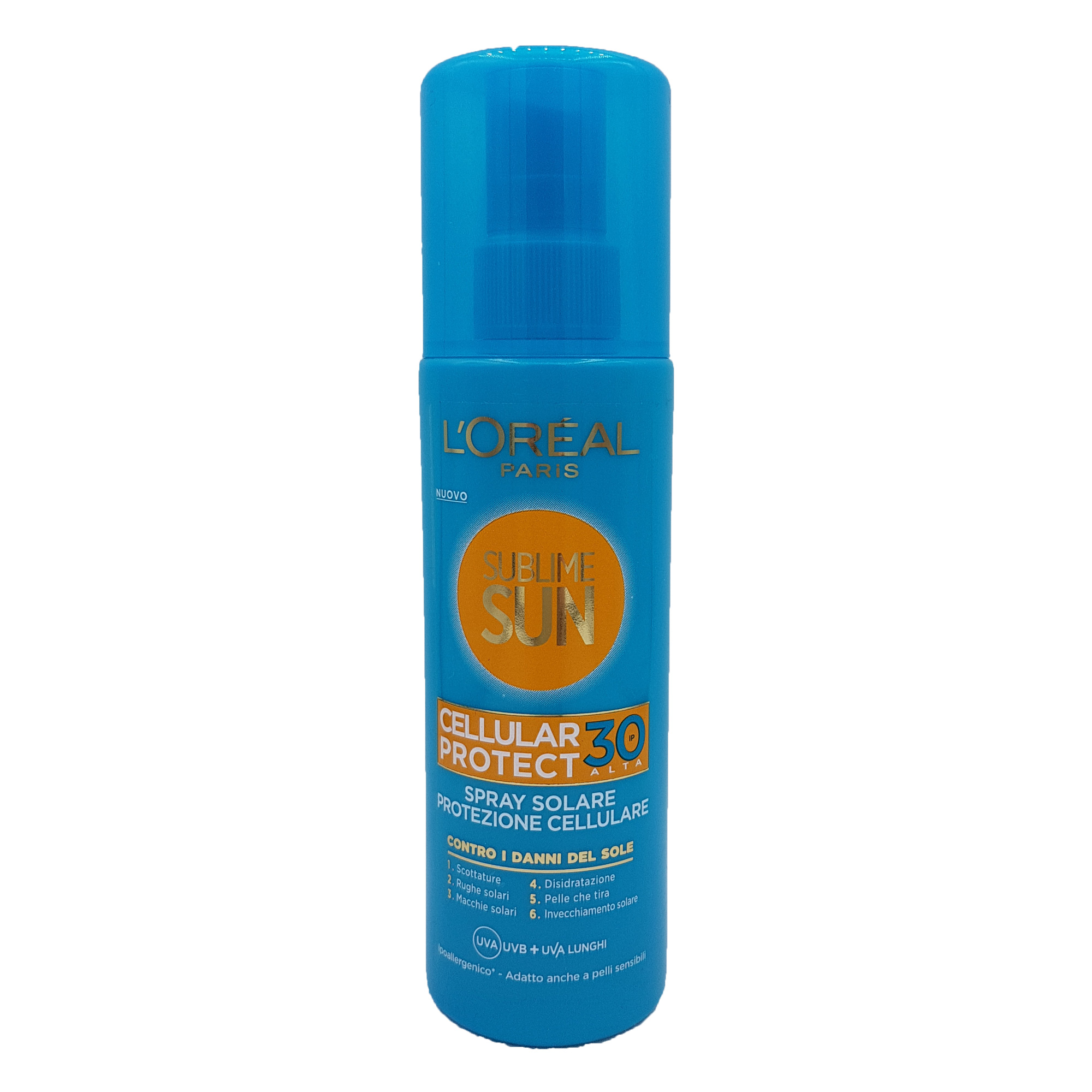 Spray solar L'oreal Cellular Protect SPF 30 200 ml