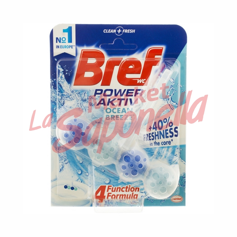 Bref odorizant wc power activ ocean breeze-50g