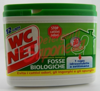 Capsule hidrosolubile septice Wc Net pentru wc 216 gr-12 capsule