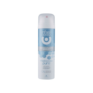 Antiperspirant Infasil Donna spray Puro piele sensibila  150 ml