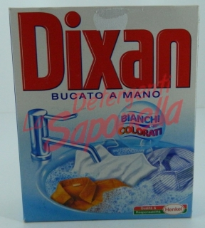 Detergent Dixan pulbere manual pentru haine albe si colorate 320 gr