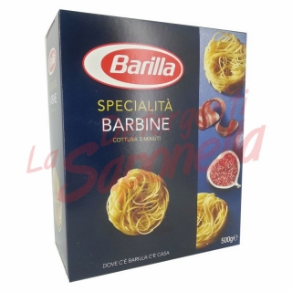"Paste Barilla specialitate ""Barbine"" 500 gr"