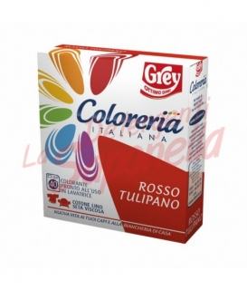 Colorant tesaturi Grey-rosu lalea- 100 g +75ml