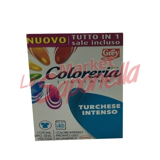 Colorant tesaturi Grey-turcoaz intens-350 gr