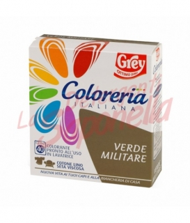 Colorant tesaturi Grey -verde militar-100 g+75ml