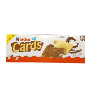 Biscuiti Kinder Cards 128 gr