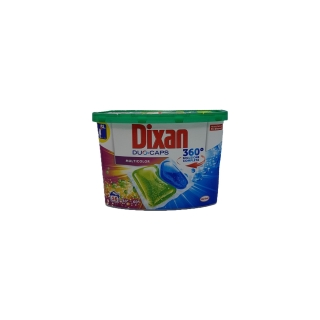 Detergent Dixan pernute Duo-Caps haine colorate 16 X 25 gr-400 gr