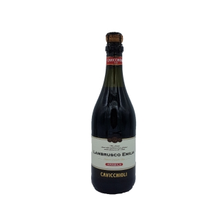 Vin rosu Lambrusco Dell'Emilia Amabile Cavicchioli 750 ml