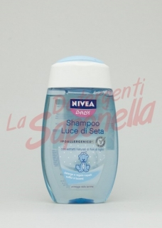Sampon Nivea Baby hipoalergenic cu extract natural de tei 200 ml